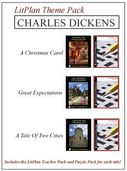 Charles Dickens Novel Unit Theme Pack Bundle