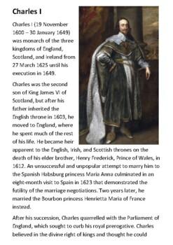 Charles I Handout