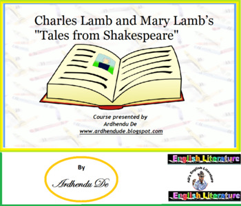 """Charles Lamb and Mary Lamb's """"Tales from Shakespeare"""""""