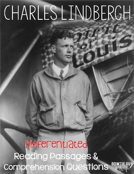 Charles Lindbergh Differentiated Reading Passages