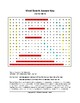 Charles Martel Word Search (Grades 9-12) with Key