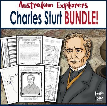 Australian Explorers - Charles Sturt BUNDLE Save 30%