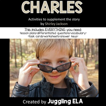 """Activities and Handsouts for the short story """"Charles"""" by Shirley Jackson"""