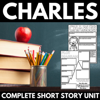 Charles by Shirley Jackson Short Story Unit Poster Project with Questions