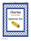 Charles by Shirley Jackson, multiple choice questions