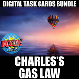 Charles's Gas Law Boom Cards | Distance Learning | Self-Grading