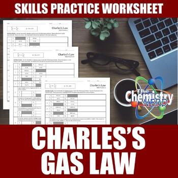 Charles's Law Skills Practice