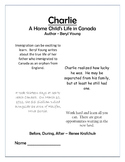 Charlie: A Home Child's Life in Canada - Before, During, After Activities