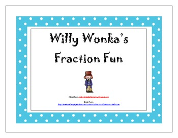 Charlie And The Chocolate Factory Fraction Fun