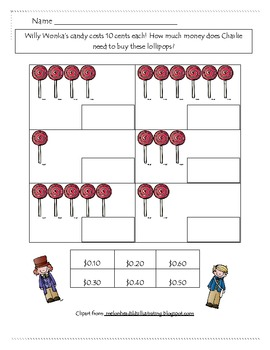 Charlie And The Chocolate Factory Money Activity