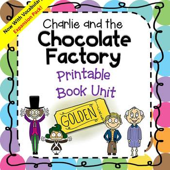 Charlie And the Chocolate Factory Study Pack