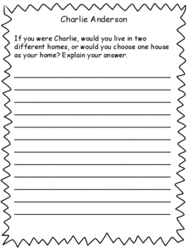 Charlie Anderson: Activity Packet and Questions