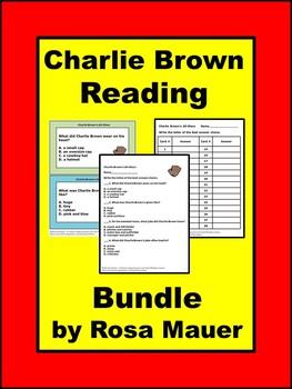 Charlie Brown Bundle of Book Units