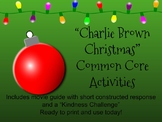Charlie Brown Christmas Study Guide-Common Core Aligned for Middle School