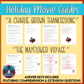 Charlie Brown Thanksgiving & Mayflower Voyage Movie Guide