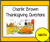 Charlie Brown Thanksgiving Movie Questions