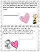 Peanuts Valentine's Word Problems