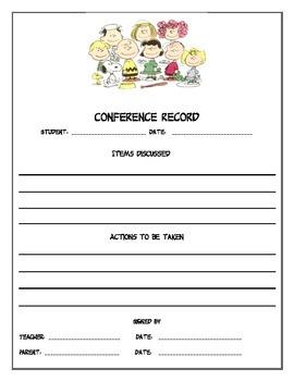 Peanuts Gang conference record