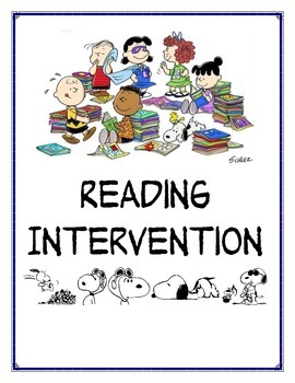 Peanuts Gang intervention cover