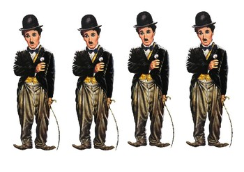 Charlie Chaplin Comic Strip and Storyboard