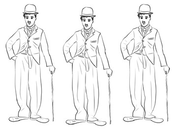 Charlie Chaplin Coloring Picture By Steven S Social Studies Tpt