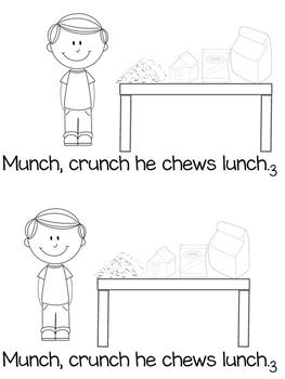Charlie Chews - Digraph ch - Mini Book