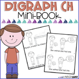 Digraph ch - Mini Book - Charlie Chews