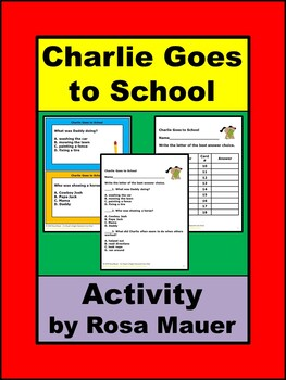 Charlie Goes to School Activity