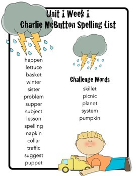 Charlie McButton Activity Pack to use with Scott Foresman Reading Street series
