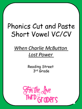 Charlie McButton Cut and Paste VC/CV Pattern