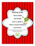 Charlie McButton Lost Power Focus Wall Posters Reading Street Grade 3, CC 2013
