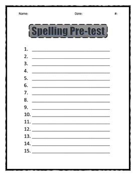 Charlie McButton Spelling practice and activities