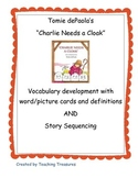 """Tomie DePaola's """"Charlie Needs a Cloak"""" Book Activities"""