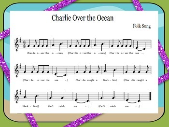 Charlie Over the Ocean Movement and Orff Lesson