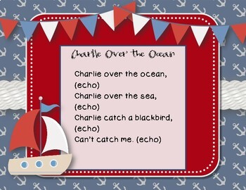 Charlie Over the Ocean - Nautical Folk Song with Rhythmic Accompaniment SAMPLER