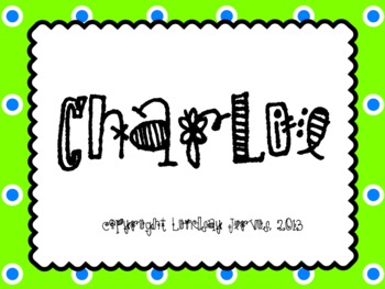 Charlie (Over the River to Feed My Sheep): Slides for teaching tika-ti