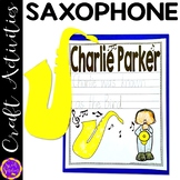 Charlie Parker John Coltrane Craft Activity (Black History; Jazz Legends)