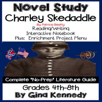 Charlie Skedaddle Novel Study & Enrichment Project Menu