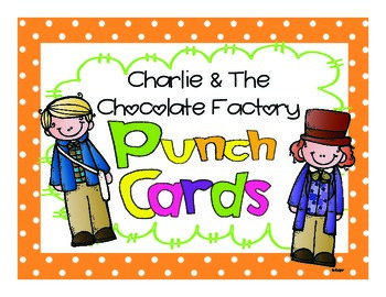 Charlie & The Chocolate Factory Punch Cards
