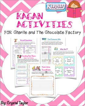 Charlie and The Chocolate Factory: Kagan Activities