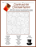 Charlie and the Chocolate Factory Word Search Puzzle