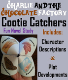 Charlie and the Chocolate Factory Novel Study (Scoot Unit Review Game)