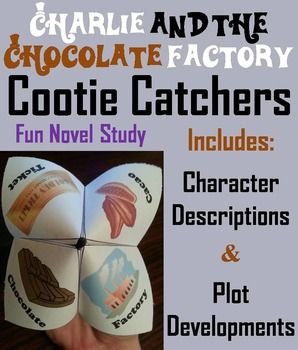 Charlie and the Chocolate Factory Activity  (Scoot Unit Re