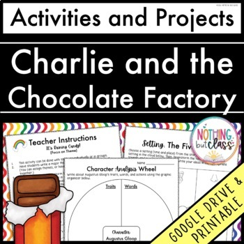 Charlie and the Chocolate Factory: Reading Response Activities and Projects