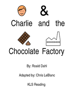 Charlie and the Chocolate Factory - Adapted Book picture supported text PDF