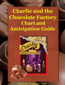 Charlie and the Chocolate Factory Anticipation Guide and KWHL Chart