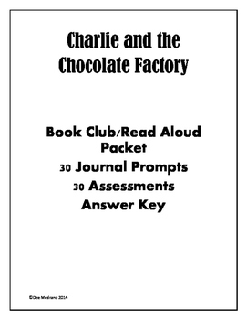 Charlie and the Chocolate Factory Assessments and Writing
