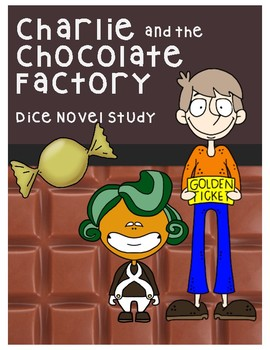 Charlie and the Chocolate Factory Book Club (Question Dice