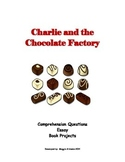 Charlie and the Chocolate Factory Book Unit - questions, p