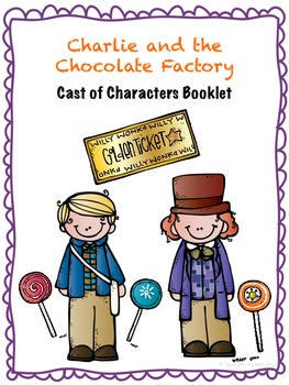 Charlie and the Chocolate Factory Cast of Characters Booklet
